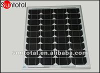 Mono Solar Panel 125 watts with competitive price