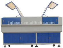 2012 Hot Sale wood furniture,acrylic,plastic,rubber laser cutting machine/laser cutter with 2 doors price