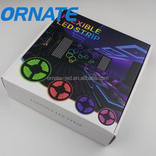 High quality 12V smd waterproof 5050 rgb led strip kit