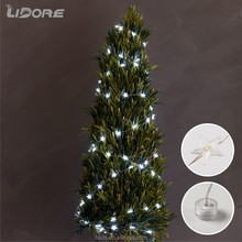 Decorating gardens christmas tree parties led string light