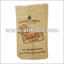 Hessian Bag for Cocoa, Coffee, Wheat, Cashew Nuts, Rice Packing