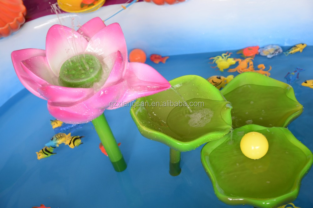 중국 광주 놀이 공원 기계 부동 플라스틱 물고기 장난감 실내 ...