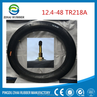 agricultural vehicles natural &butyl tire inner tube for 12.4-48 TR218A from factory