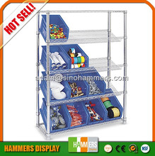 Adjustable household chrome wire shelf, wire rack