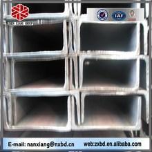 section channel steel american standard