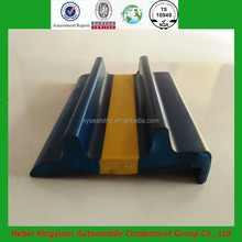 Co-extruded rubber and plastic products colorful boat anti-collision rubber strip