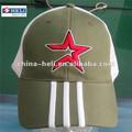 Sombreros con malla, seis paneles casquillos del acoplamiento