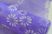 wedding decor organza rolls use for chair sash table runner and curtain disposable material