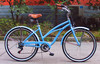 26inch 7speed beach cruiser bicycle/lady beach cruiser bicycle/girl beach cruiser bicycle