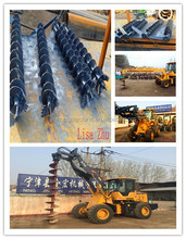 Top10 manufacturer Excavator Attachments Hydraulic Earth Drill/loader attachment Auger for sale