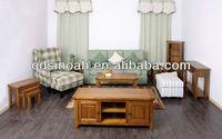 Jasmine oak furniture modern wooden living room set