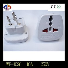 WF-1026 10a/250v japan electrical travel adapter