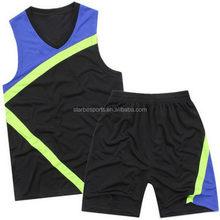 Bottom price unique basketball uniforms/basket wear