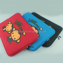 fancy neoprene laptop sleeve with printing for kids