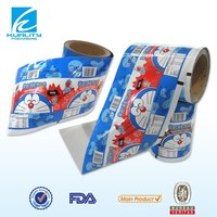 Custom OEM plastic flexible packaging material