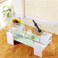Luxury coffee shop shengfang glass coffee tables in coffee tables