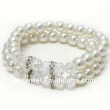 2012 new design bracelet PRYER HAND MESSAGE STRETCH BRACELET - PRAY WITHOUT CEASING - 1 THESSALONIANS 5:17 O11129AS-72926