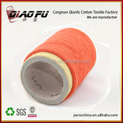 international factory from china wholesale 7s recycled color blended yarn for weaving