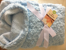 baby swaddle blanket fabric knitted, animal print baby blanket