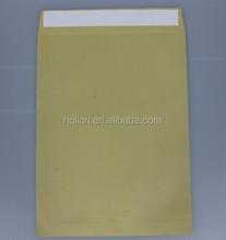 peel & seal brown kraft paper envelope