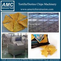 Tortilla doritos chips food making machine