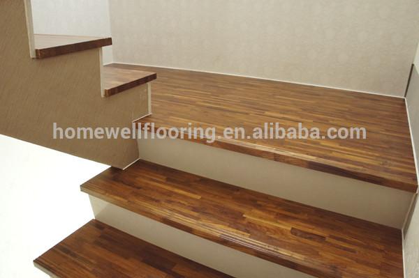 moderne en bois de teck birmanie marches d 39 escalier int rieur escaliers en bois. Black Bedroom Furniture Sets. Home Design Ideas