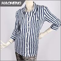 Professional manufacture Low price Kinting lady blouse & top