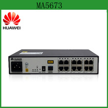 Huawei 4 GE + 4 POTS + 4 E1 ports GPON ONU SmartAX MA5673 for wireless office, enterprise private line, and video surveillance