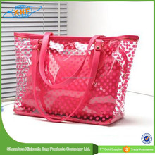 Wholesale New Style Transparent Pvc Bag/Waterproof Beach Bag 2015
