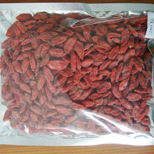 Dried goji berry packed 500pcs/50g 4x 5kg, small pack