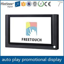 FlintStone Factory price 7inch 12W easy management touch advertisement tablet