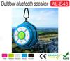 China Wholesale Oem Mini portable golf ball shape bluetooth speaker Hand-free Outdoor Bluetooth Speaker With Hook
