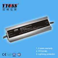 100w constant voltage 24v 12v dc power supply IP67 power led driver with 5 years warranty