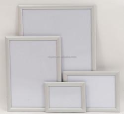aluminum wall-mounted snap frames, 25mm clip frame A1.A2.A3.A4, gold poster frame