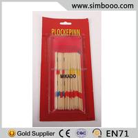 Wooden Box Mikado Spiel Pick Up Stick Game 18CM