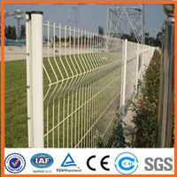 modular 3D fencing panels/welded mesh panel fence professional factory