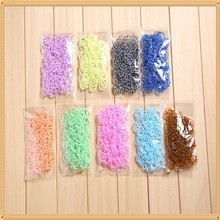 2014 Cheap Rainbow Rubber Loom Bands Wholesale Customized Rainbow Style Loom Factory Price Rubber Bands