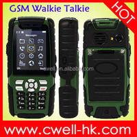 ALPS L8 IP67 Waterproof Rugged Phone 2.4 Inch with GSM Walkie Talike Bluetooth FM Flashlight and Analog TV