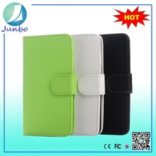 Classical stylish fancy flip cover leather wallet case for htc one m7