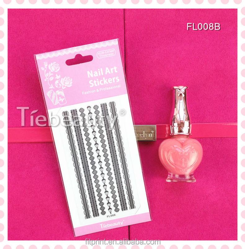 nail tape stripe decoration sticker