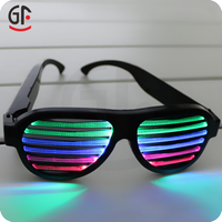 Green Wedding Decoration CE Certification Color Changing Wholesale Kids Sunglasses Sound Activated