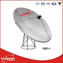 Ku Band 1.5m Satellite Dish global TV Receiver