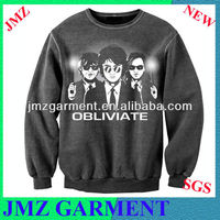 50% cotton 50% polyester fashion pullover man sweater
