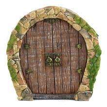 Simple Fairy Garden Resin Door