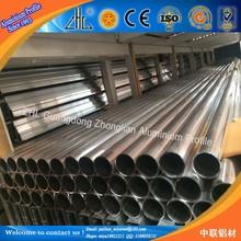 6060 en alliage d'aluminium ronde extrudé fournisseur de tuyau / tube en aluminium prix par kg / chine profilés en aluminium fabricant