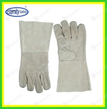 """Welcome contact eternity Full sock lined 14""""cow leather welding gloves Full sock lined 14""""cow leather welding gloves"""
