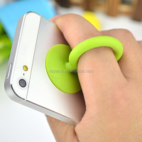 boomray factory own direct sales multipuprpose ring earphone wire winder smart stand for mobile phone
