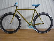 Single Speed Road Bike 58cm Large Fixie Fixed Flat Bar bicycle