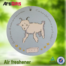 Classic style absorbent competitive price paper car air fresheners