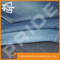 Pr-wd199 stock de algodón de mezclilla tela de jean